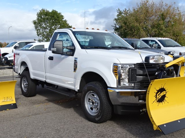 2018 F-350 Regular Cab 4x4,  Fisher Pickup #CR3962 - photo 3