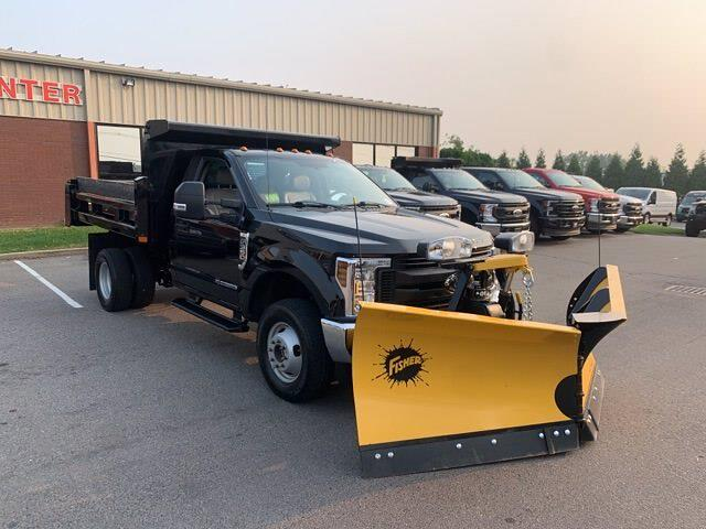 2018 F-350 Regular Cab DRW 4x4,  Rugby Dump Body #CR4016 - photo 2