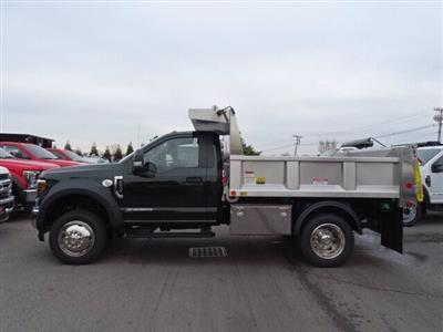 2019 Ford F-550 Regular Cab DRW 4x4, Iroquois Brave Series Stainless Steel Dump Body #CR4182 - photo 1