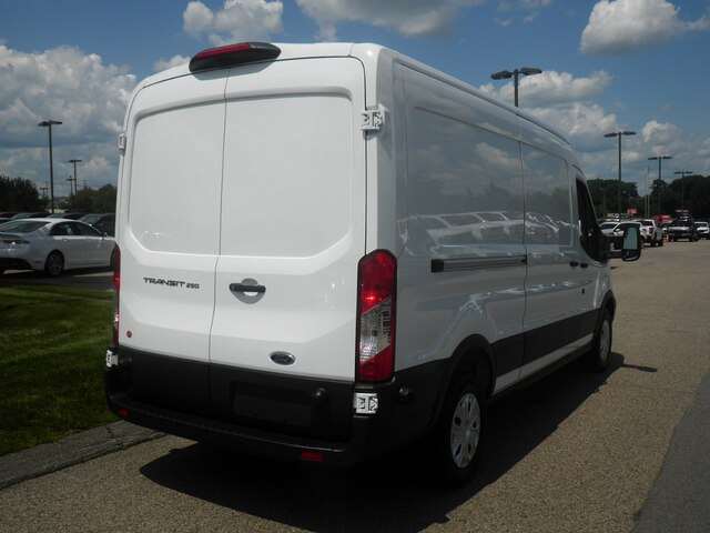 2018 Transit 250 Med Roof 4x2,  Empty Cargo Van #CR4599 - photo 6