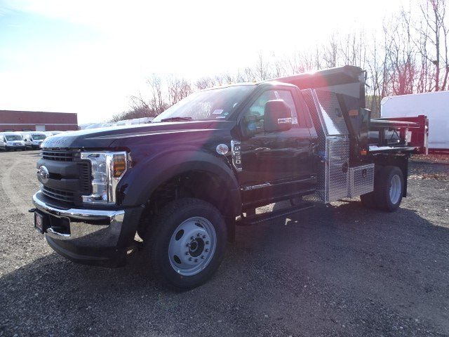 2019 F-550 Regular Cab DRW 4x4,  Rugby Dump Body #CR4895 - photo 3