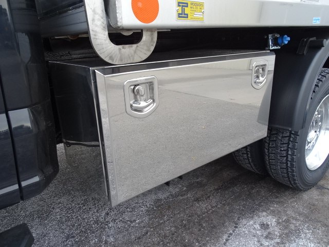 2019 Ford F-550 Super Cab DRW 4x4, Iroquois Brave Series Stainless Steel Dump Body #CGCR4985 - photo 4