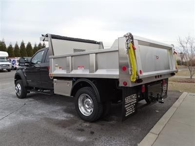 2019 Ford F-550 Super Cab DRW 4x4, Iroquois Brave Series Stainless Steel Dump Body #CGCR4985 - photo 2