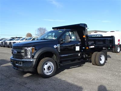 2019 F-450 Regular Cab DRW 4x4,  Rugby Eliminator LP Steel Dump Body #CR5021 - photo 3
