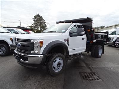2019 F-550 Regular Cab DRW 4x4,  Rugby Eliminator LP Steel Dump Body #CR5072 - photo 3