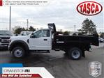 2019 F-550 Regular Cab DRW 4x4,  Rugby Eliminator LP Steel Dump Body #CR5072 - photo 1