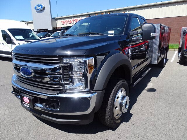 2019 F-550 Super Cab DRW 4x4, Reading Classic II Aluminum  Service Body #CR5628 - photo 3