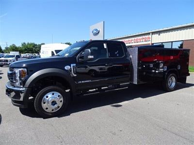 2019 F-550 Super Cab DRW 4x4, Reading Classic II Aluminum  Service Body #CR5628 - photo 1