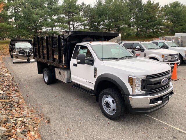2019 Ford F-550 Regular Cab DRW 4x4, Rugby Eliminator LP Steel Dump Body #CR6154 - photo 3
