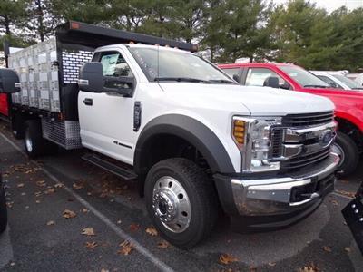 2019 F-550 Regular Cab DRW 4x4, SH Truck Bodies Stake Bed #CR6290 - photo 3