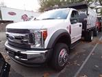2019 Ford F-550 Regular Cab DRW 4x4, SH Truck Bodies Stake Bed #CR6290 - photo 1
