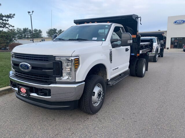 2019 Ford F-350 Regular Cab DRW 4x4, Rugby Eliminator LP Steel Dump Body #CR6375 - photo 3