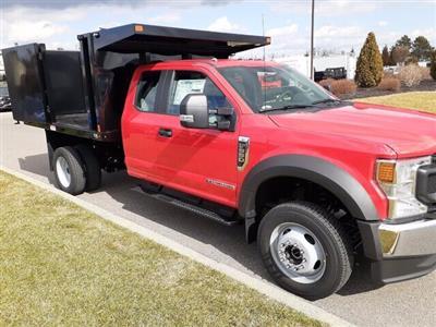 2020 Ford F-550 Super Cab DRW 4x4, SH Truck Bodies Landscape Dump #CR6586 - photo 4