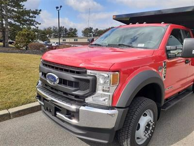 2020 Ford F-550 Super Cab DRW 4x4, SH Truck Bodies Landscape Dump #CR6586 - photo 5