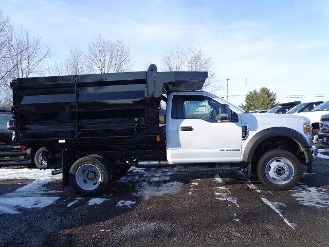 2020 Ford F-550 Regular Cab DRW 4x4, Rugby Landscape Dump #CR6737 - photo 1
