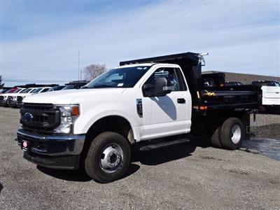 2020 Ford F-350 Regular Cab DRW 4x4, Air-Flo Pro-Class Dump Body #CR6777 - photo 3