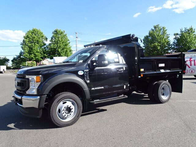 2020 Ford F-550 Regular Cab DRW 4x4, Crysteel Dump Body #CR7095 - photo 3