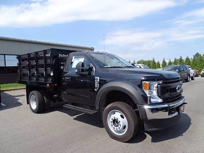 2020 Ford F-550 Regular Cab DRW 4x4, Knapheide Value-Master X Stake Bed #CR7167 - photo 1