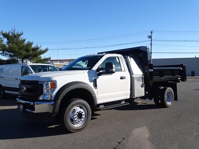 2020 Ford F-550 Regular Cab DRW 4x4, Rugby Eliminator LP Steel Dump Body #CR7194 - photo 1