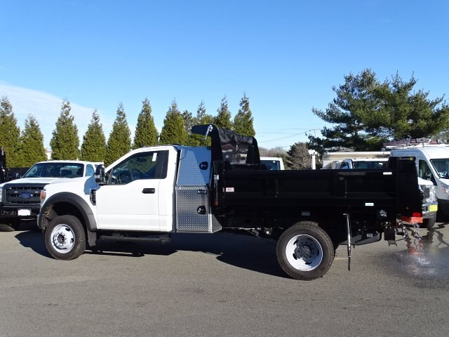 2020 Ford F-550 Regular Cab DRW 4x4, Rugby Eliminator LP Steel Dump Body #CR7194 - photo 4