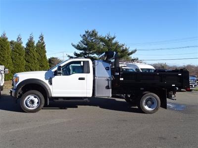 2020 Ford F-550 Regular Cab DRW 4x4, Rugby Eliminator LP Steel Dump Body #CR7194 - photo 3