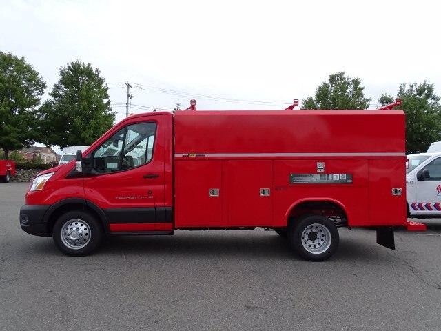 2020 Ford Transit 350 HD DRW RWD, Reading Aluminum TSC Service Utility Van #CR7327 - photo 3