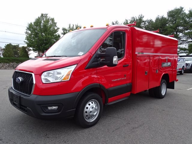 2020 Ford Transit 350 HD DRW RWD, Reading Aluminum TSC Service Utility Van #CR7327 - photo 1