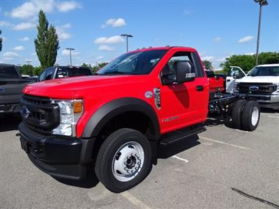 2020 Ford F-550 Regular Cab DRW 4x4, Cab Chassis #CR7372 - photo 9