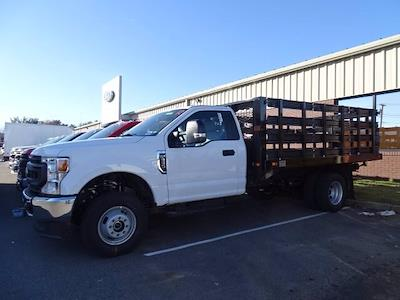 2020 Ford F-350 Regular Cab DRW 4x4, Knapheide Value-Master X Stake Bed #CR7683 - photo 1