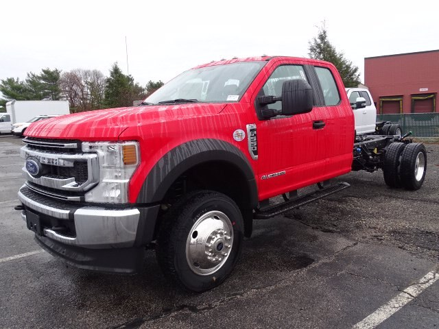 2021 Ford F-550 Super Cab DRW 4x4, Cab Chassis #CR7725 - photo 2