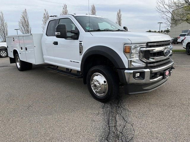2021 Ford F-550 Super Cab DRW 4x4, Cab Chassis #CR7848 - photo 1