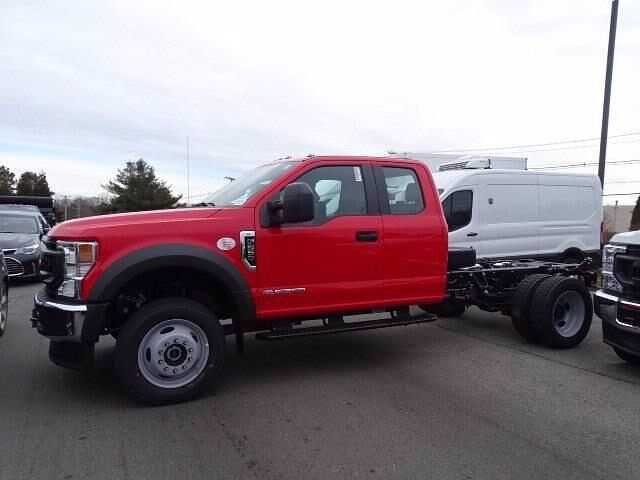2021 Ford F-550 Super Cab DRW 4x4, Cab Chassis #CR7992 - photo 3