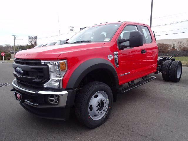 2021 Ford F-550 Super Cab DRW 4x4, Cab Chassis #CR7992 - photo 1