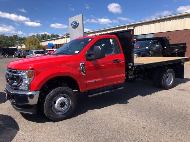 2021 Ford F-350 Regular Cab DRW 4x4, SH Truck Bodies Platform Body #CR8311 - photo 1