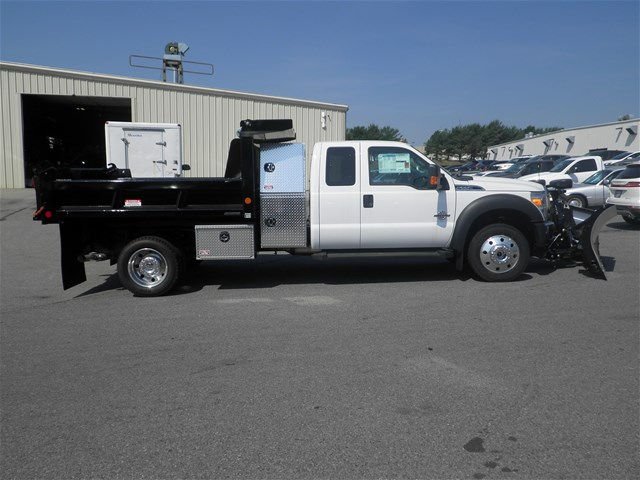 2016 F-550 Super Cab DRW 4x4, Reading Marauder Standard Duty Dump Dump Body #CR9669 - photo 4