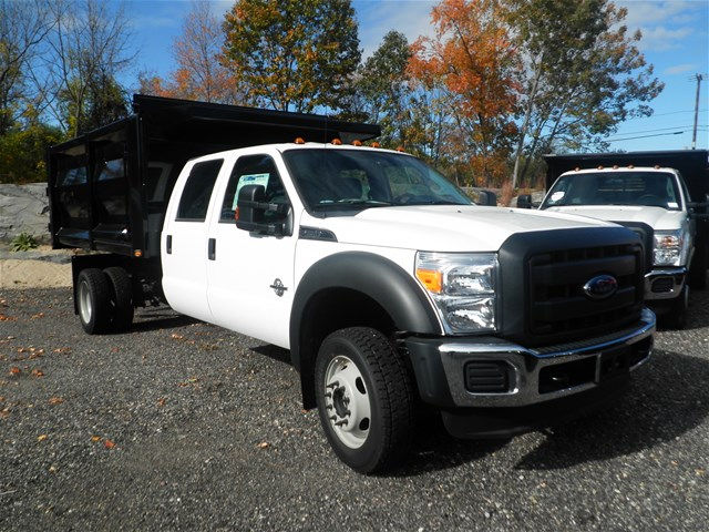 2016 F-550 Crew Cab DRW 4x4, Rugby Landscape Dump #CR9840 - photo 8
