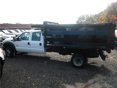 2016 F-550 Crew Cab DRW 4x4, Rugby Landscape Dump #CR9840 - photo 4