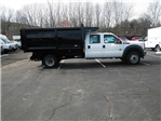 2016 F-550 Crew Cab DRW 4x4, Rugby Landscape Dump #CR9840 - photo 13