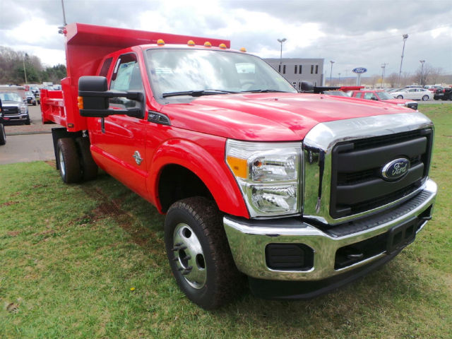 2016 F-350 Super Cab DRW 4x4, Rugby Dump Body #G2966 - photo 4