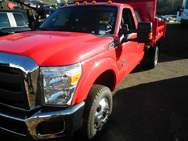 2016 F-350 Super Cab DRW 4x4, Rugby Dump Body #G2966 - photo 10