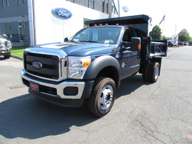 2016 F-450 Regular Cab DRW 4x4, Rugby Dump Body #G3051 - photo 4