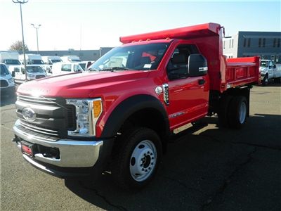2017 F-550 Regular Cab DRW 4x4 Dump Body #G3734 - photo 4