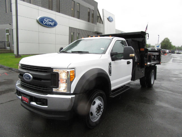 2017 F-550 Regular Cab DRW 4x4 Dump Body #G3984 - photo 4
