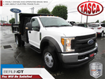 2017 F-550 Regular Cab DRW 4x4 Dump Body #G3984 - photo 1