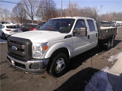 2011 F-350 Crew Cab DRW 4x4, Stake Bed #G4398A - photo 24