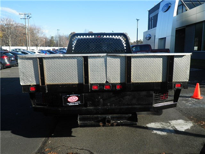 2011 F-350 Crew Cab DRW 4x4, Stake Bed #G4398A - photo 4