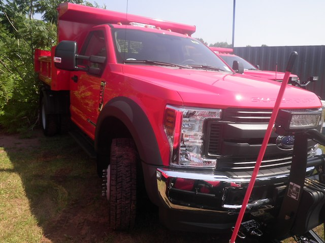 2018 F-450 Regular Cab DRW 4x4,  Rugby Eliminator LP Steel Dump Body #G4550 - photo 3