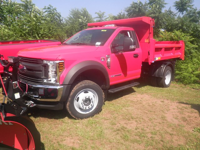 2018 F-450 Regular Cab DRW 4x4,  Rugby Eliminator LP Steel Dump Body #G4550 - photo 5