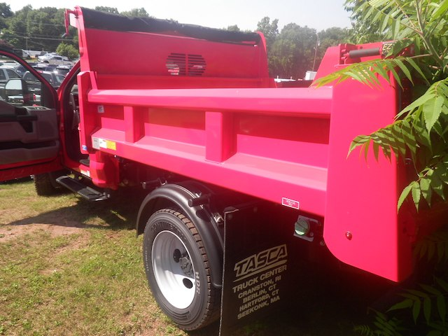 2018 F-450 Regular Cab DRW 4x4,  Rugby Eliminator LP Steel Dump Body #G4550 - photo 2
