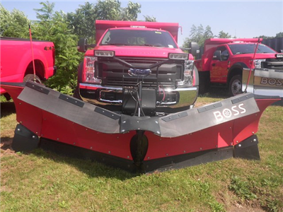 2018 F-450 Regular Cab DRW 4x4,  Rugby Eliminator LP Steel Dump Body #G4550 - photo 4